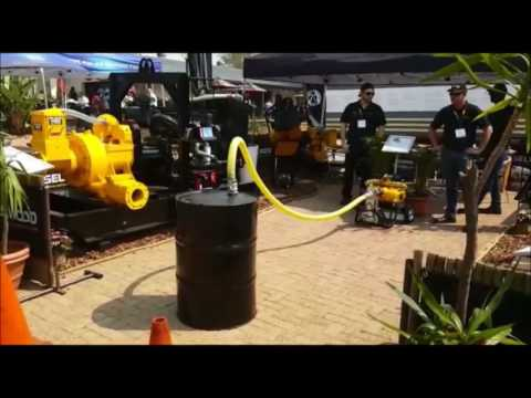 PD75 Demo at Electra Mining Expo 2016