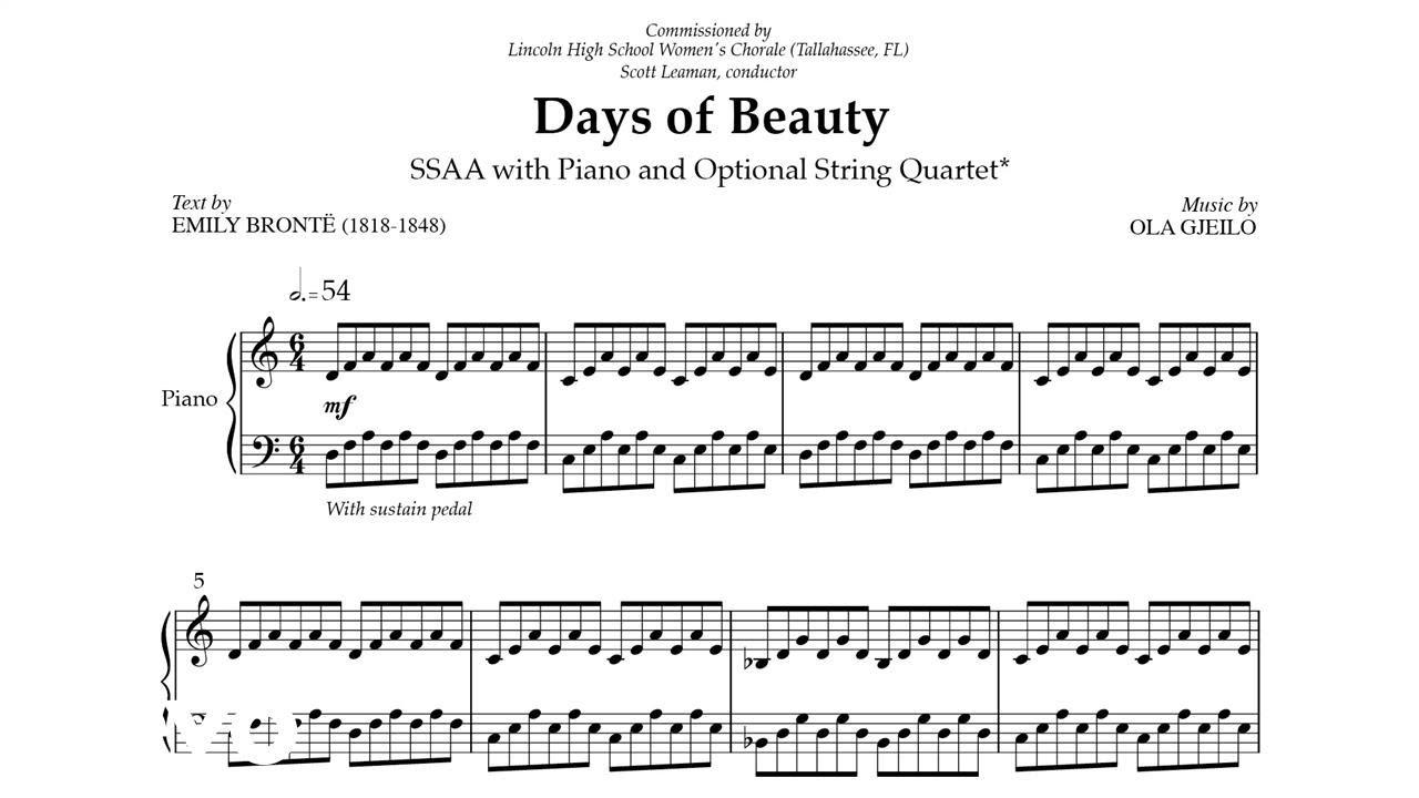 Days of Beauty | Ola Gjeilo