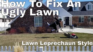6 Steps How To Fix an Ugly. Never trust a Lawn Leprechaun. Happy St Patrick's day!
