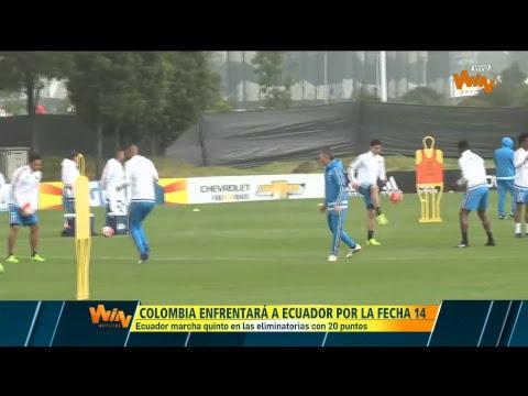 En vivo: Entrenamiento de la Selección Colombia en Bogotá
