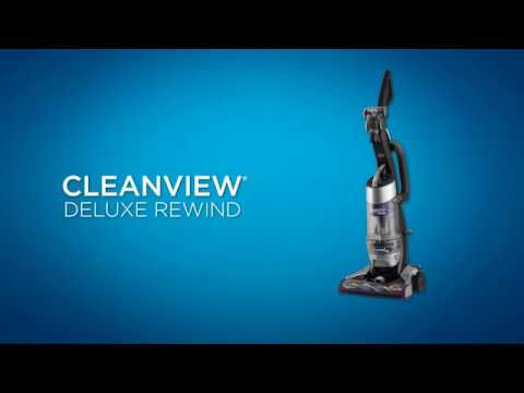 How to use the CleanView® Deluxe Rewind Upright Vacuum | BISSELL