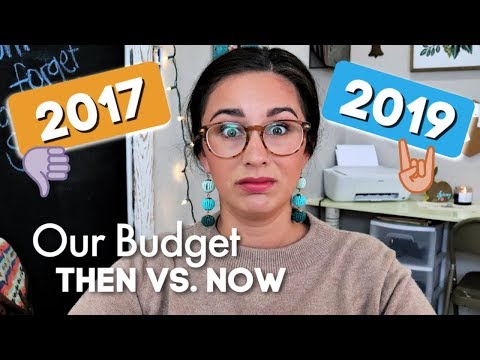 Our First Budget vs. Today's Budget 💸 | How Things Have Changed