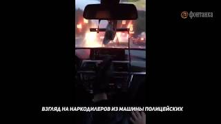 GTA по-петербуржски: видео из полицейской машины.