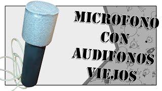Como hacer un Micrófono Casero //How to make a Home Microphone || DIY || Una Idea Más