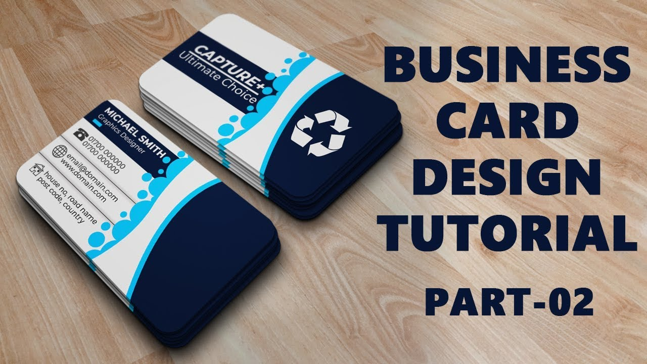 Business card design tutorial rounded corner business card design business card design tutorial rounded corner business card design tutorial in photoshop part two reheart Image collections