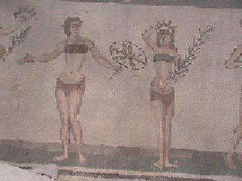 Fantastic Roman Empire Mosaics, Sicily