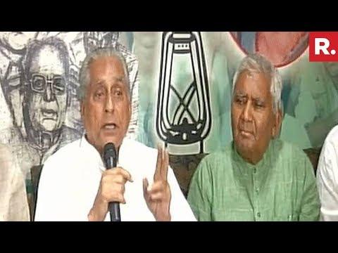 RJD Targets Nitish Kumar - Full Press Conference
