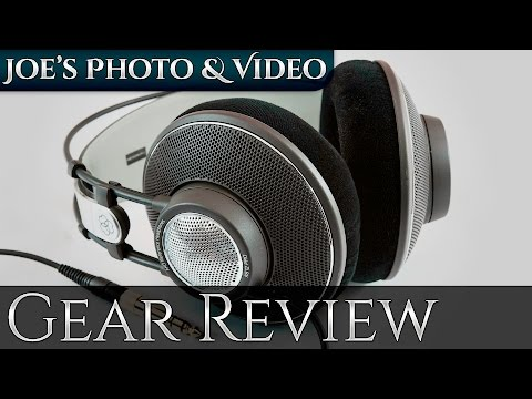 AKG K612 Pro Reference Class Studio Headphones | Gear Review