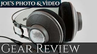 AKG K612 Pro Reference Class Studio Headphones | Gear Review