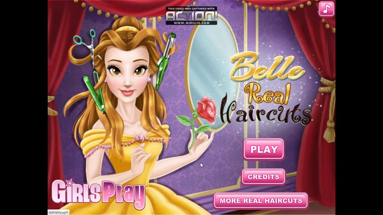 Disney Princess Games Belle Real Haircuts Best Disney Games For