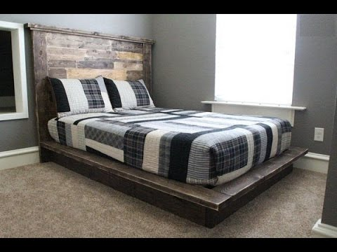 Кровать своими руками на ютубе