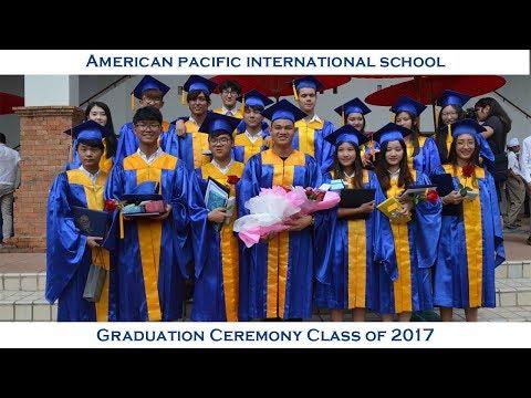 American Pacific International School   Graduation Ceremony Class of 2017   Short  