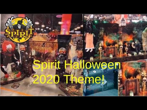 Leaked Halloween 2020 Pictures Spirit Halloween 2020 THEME! LEAKS!   YouTube