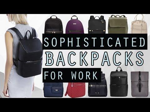 Best Women's Backpacks For Work 2017 - Sophisticated & Smart