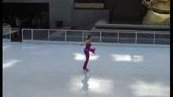 World Record Figure Skating Spin