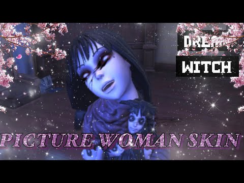 IDENTITY V - Dream Witch Picture Woman/Tomie (Junji Ito) Skin Gameplay