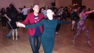ARMANDO & SCARLET SALSA DANCE AT SEATTLE SALSA CONGRESS 2018