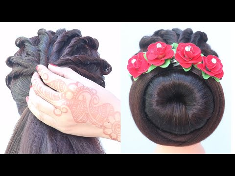 quick-bridal-juda-hairstyle-for-ladies-||-unique-hairstyle-||-hairstyle-for-women-||-updo-hairstyle