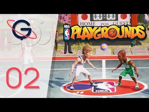 NBA PLAYGROUNDS FR #2 : Premier joueur LÉGENDAIRE !
