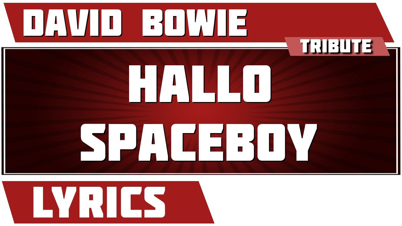 PET SHOP BOYS - HALLO SPACEBOY LYRICS