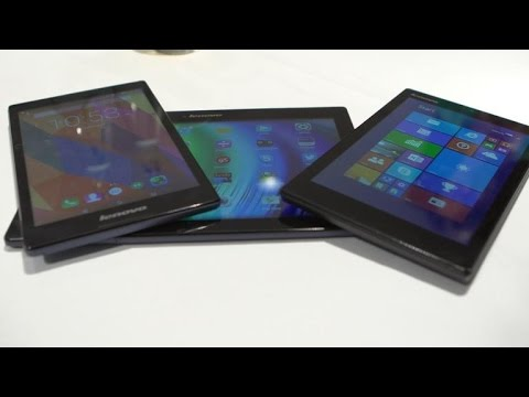 Lenovo Shows Off $149 Windows 8.1 Tablet And More