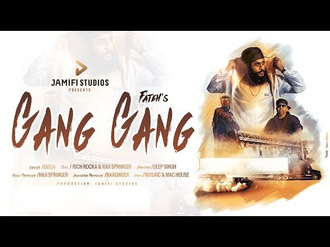Gang Gang | Fateh feat. Rich Rocka & Haji Springer | Jamifi Studios | Official Video