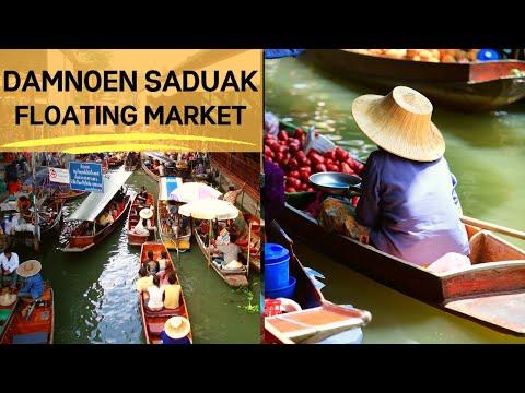 FLOATING MARKET DAMNOEN SADUAK: BANGKOK FLOATING MARKET - THAILAND TRAVEL GUIDE
