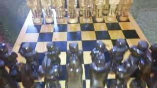 Шахматы ручной работы из дерева(, 2015-04-05T14:18:20.000Z)