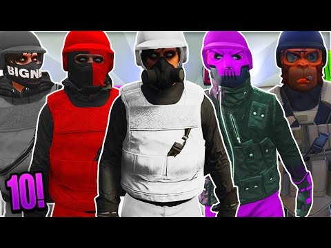 "TOP 10 BEST MODDED OUTFITS IN GTA 5 ONLINE! ""USING BRAND NEW CLOTHING GLITCHES AFTER PATCH 1.42!"""