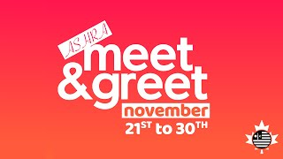 Meet and Greet | Let's build relationships!