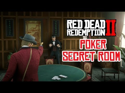Red Dead Redemption 2 Saint Denis Gun Store Secret Illegal Business - High Stakes Poker Room