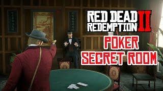 Red Dead Redemption 2 Saint Denis Gun Store Secret Illegal Business - High Stakes Poker Room