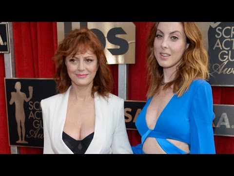 Susan Sarandon Sizzles at 69 on SAG Awards Red Carpet, Even Her Son Says She's 'Sexy'!