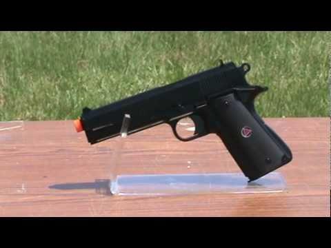 Licensed Airsoft Colt Delta Elite Black Airsoft Gun.mpg ...