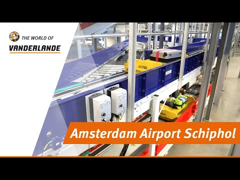 The World of Vanderlande: Amsterdam Airport Schiphol