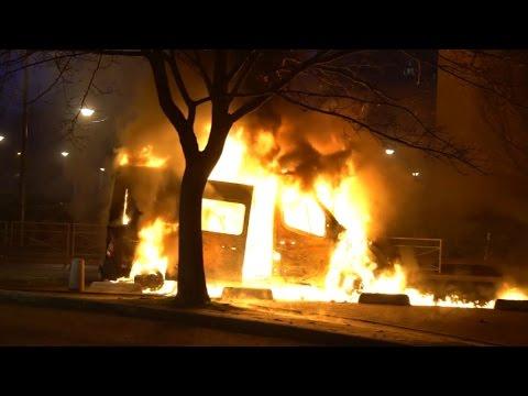 Nuit de violences à Argenteuil : un chauffeur de bus blessé et 11 interpellations