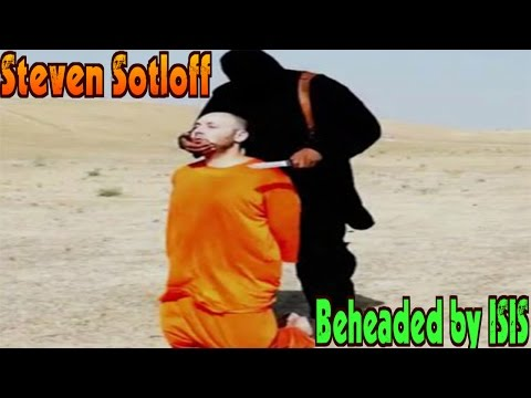 Image result for pic of steven sotloff beheading