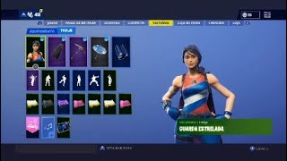FORTNITE ACCOUNT CHANGE W/90 SKINS-QUERO SEASON 2