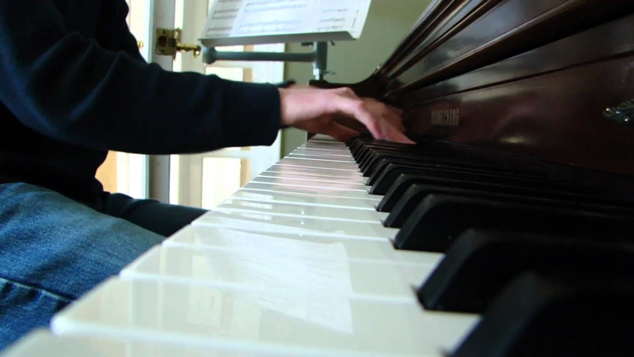 Coconut Records West Coast Piano Cover Youtube
