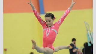 Annie the Gymnast | Level 7 State Gymnastics Meet 2015 | Acroanna thumbnail
