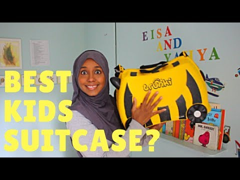 Trunki Ride On Suitcase Review -  Kids Luggage