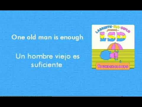 LSD-Thunderclouds. Lyrics/letra Sub. Español. (Labrinth, Sia, Diplo)