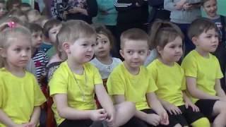 Урок по знакомству с борьбой самбо в детском саду