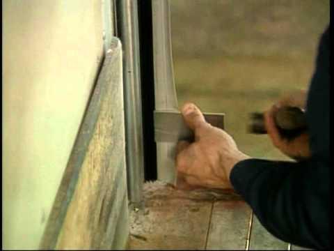 Whiting Door Premium Roll Up Door   Side Seal Installation