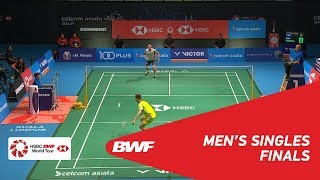 MS | LEE Chong Wei (MAS) [7] vs Kento MOMOTA (JPN) | BWF 2018