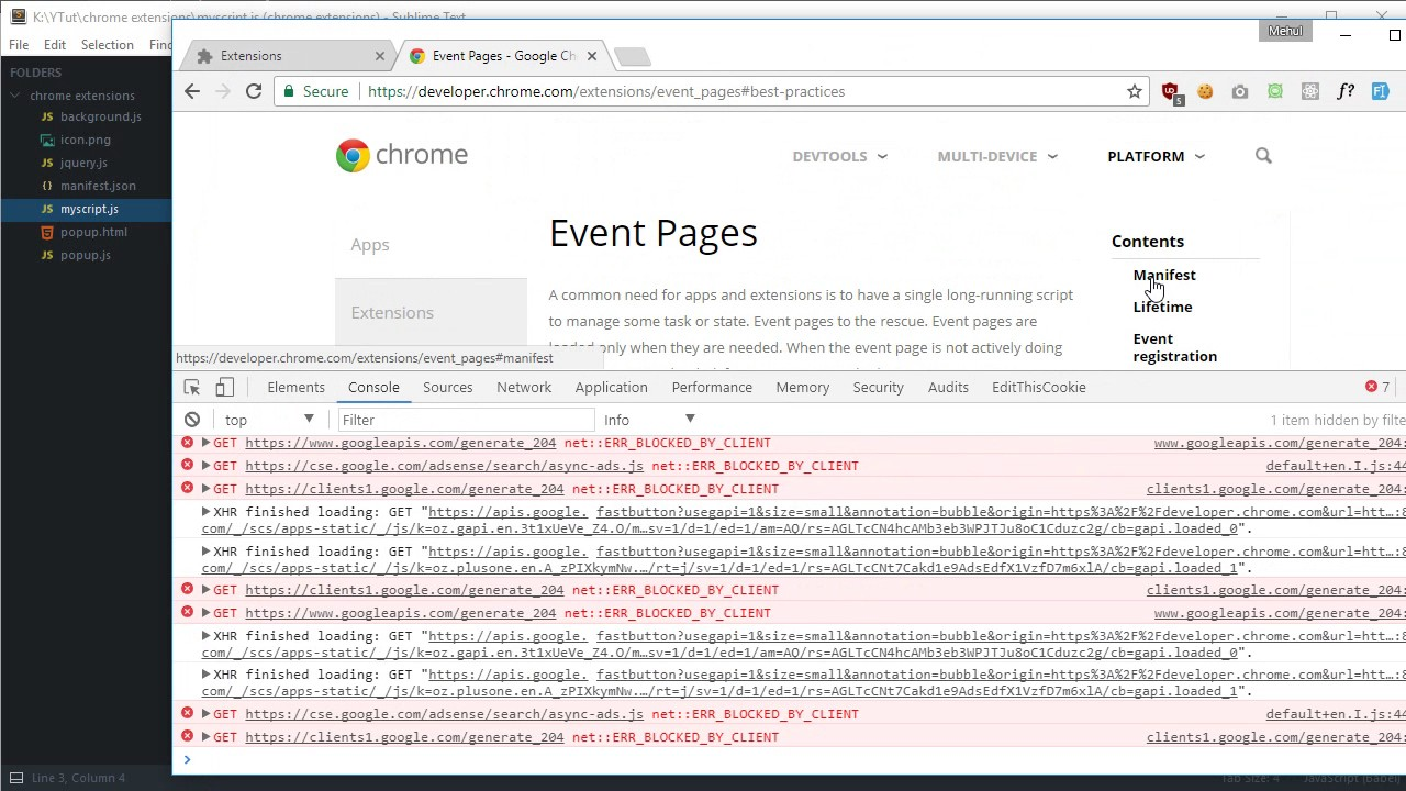 Chrome Extension Tutorial 5: Manipulating DOM with Content Scripts