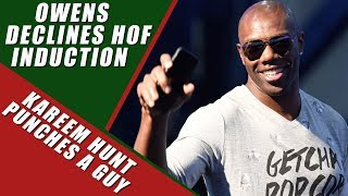 Terrell Owens Skipping Hall of Fame Induction