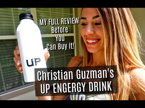 UP Energy Drink by Christian Guzman | First Taste & Review- That's What's UP!