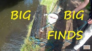 11 finds in 11 minutes Magnet fishing
