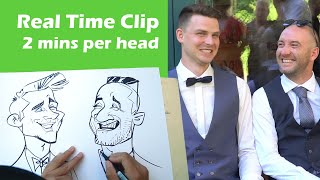 Live Caricature Clip in Real Time - by Schnellzeichner Xi